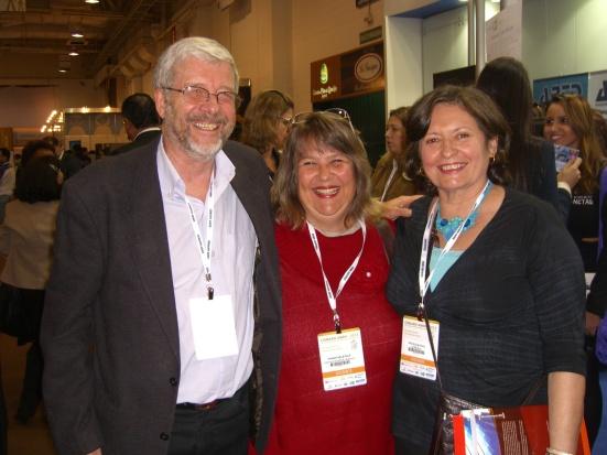 Com Magdalena e Gustavo Boog no lançamento do nosso livro no CONRH 2013